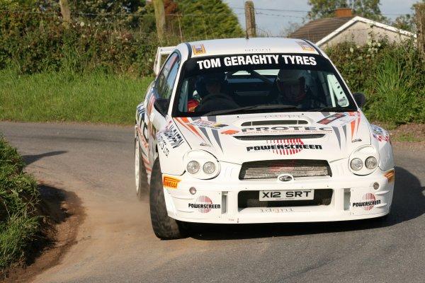 2006 British Rally ChampionshipUlster Rally, Armagh.2nd September 2006Emma McKinstryWorld Copyright - Ebrey/LAT Photographic