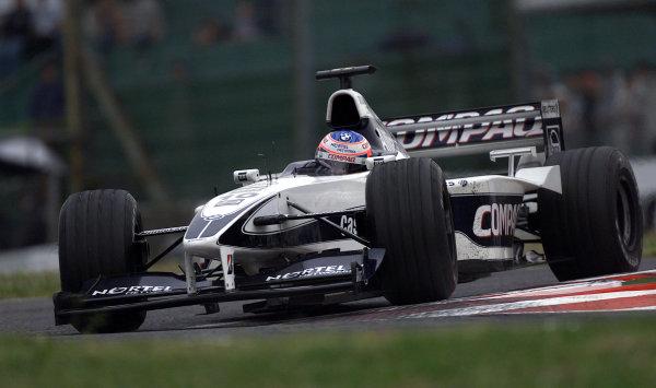 Suzuka, Japan.6-8 October 2000.Jenson Button (Williams FW22 BMW) 5th position.World Copyright Etherington/LAT Photographicref: 18 mb digital image