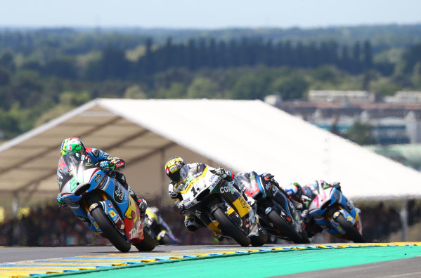 2017 Moto2 Championship - Round 5 Le Mans, France Sunday 21 May 2017 Franco Morbidelli, Marc VDS World Copyright: Gold & Goose Photography/LAT Images ref: Digital Image 671762