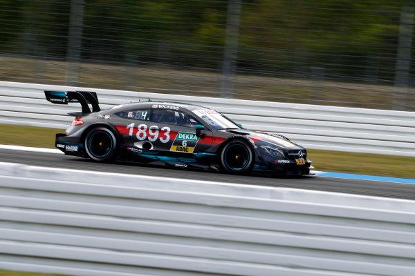 2017 DTM Round 1 Hockenheim, Germany. Friday 5 May 2017. Robert Wickens, Mercedes-AMG Team HWA, Mercedes-AMG C63 DTM World Copyright: Alexander Trienitz/LAT Images ref: Digital Image 2017-DTM-R1-HH-AT1-0595