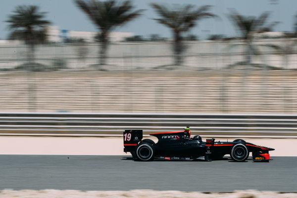 Bahrain International Circuit, Sakhir, Bahrain. Wednesday 29 March 2017 Johnny Cecotto (VEN) Rapax  Photo: Malcolm Griffiths/FIA Formpula 2 ref: Digital Image MALC5279 2
