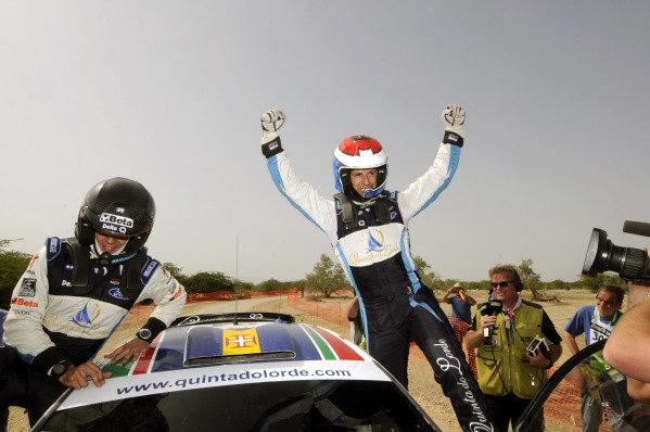 Bernardo Sousa (POR) wins the SWRC. World Rally Championship, Rd4, Rally Jordan, Dead Sea, Amman, Jordan, Day 3, Saturday 16 April 2011.