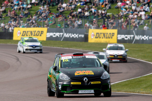 2016 Renault Clio Cup, Thruton, 7th-8th My 2016 Ant Whorton-Eales (GBR) JamSport with AWE Motorsport Renault Clio Cup  World copyright. Jakob Ebrey/LAT Photographic