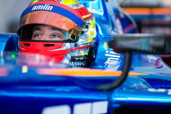 2015/2016 FIA Formula E Championship. Testing, Punta del Este, Uruguay. Sunday 20 December 2015. Robin Frijns (NLD), Andretti - Spark SRT_01E. Photo: Zak Mauger/LAT/Formula E ref: Digital Image _L0U0182