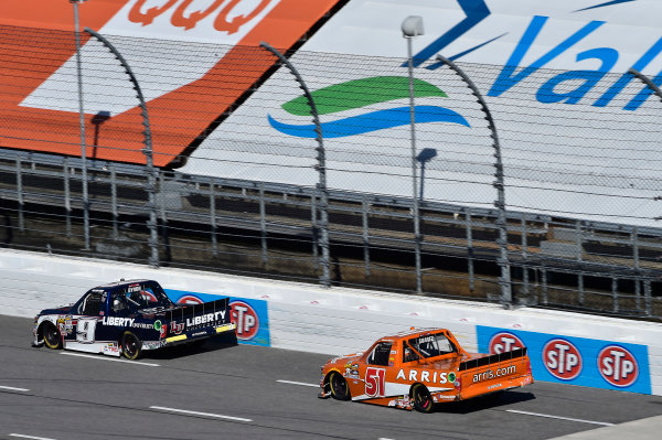 1-2 April, 2016, Martinsville, Virginia USA William Byron (9), Daniel Suarez (51) ?2016, John Harrelson / LAT Photo USA
