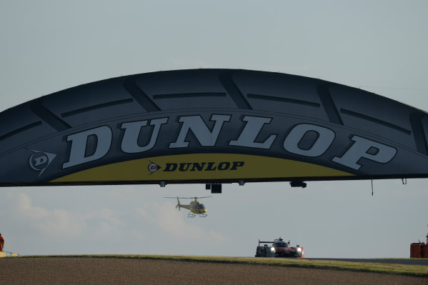 2014 Le Mans 24 Hours. Circuit de la Sarthe, Le Mans, France. Saturday 14 June 2014. 35, OAK Racing, Ligier, LMP-2, Alex Brundle, Jann Mardenborough, Mark Shulzhitskiy World Copyright: Rick Dole/LAT Photographic. ref: Digital Image _RD45558