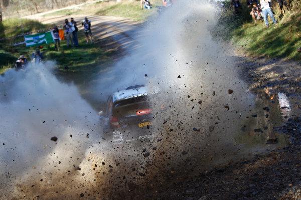 2014 World Rally Championship Rally Australia 11th - 14th September 2014 Mikko Hirvonen, Ford, action Worldwide Copyright: McKlein/LAT