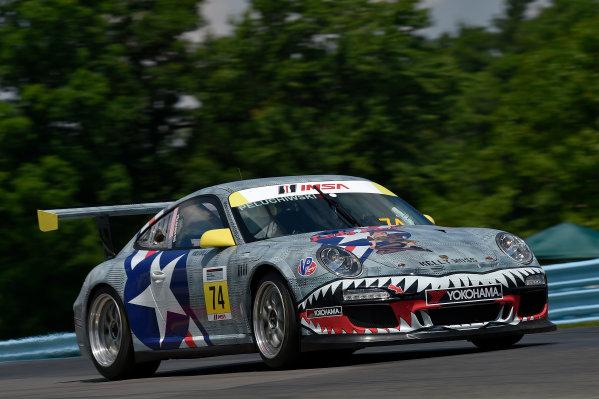 26-29 June, 2014, Watkins Glen, New York USA 74, William Peluchiwski, Gold, M, 2010 Porsche ?2014 Scott R LePage LAT Photo USA