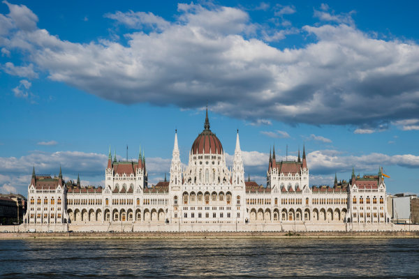 Hungaroring, Budapest, Hungary. Monday 5 June 2017. A view of the Hungarian Parliament Building. World Copyright: Zak Mauger/LAT Images ref: Digital Image _56I0555