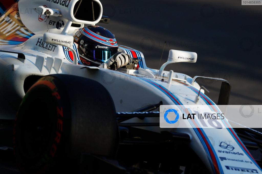 Baku City Circuit, Baku, Azerbaijan. Friday 23 June 2017. Lance Stroll, Williams FW40 Mercedes.  World Copyright: Steven Tee/LAT Images ref: Digital Image _O3I1608