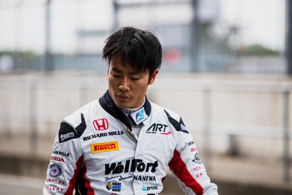 2017 FIA Formula 2 Round 6. Silverstone, Northamptonshire, UK. Friday 14 July 2017. Nobuharu Matsushita (JPN, ART Grand Prix).  Photo: Zak Mauger/FIA Formula 2. ref: Digital Image _54I4936