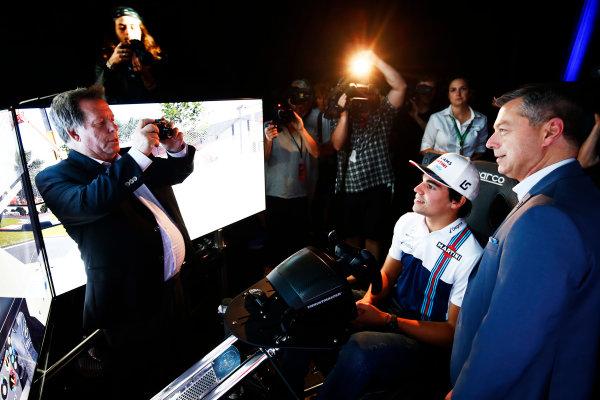 Circuit Gilles Villeneuve, Montreal, Canada. Wednesday 7 June 2017. Lance Stroll, Williams Martini Racing.  World Copyright: Hone/LAT Images ref: Digital Image _ONZ1041