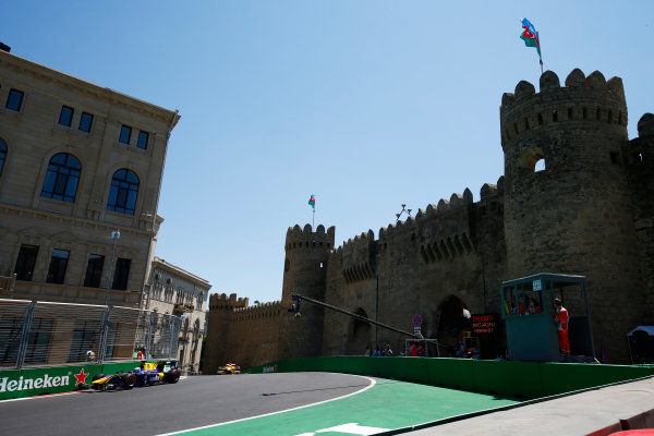 Baku City Circuit, Baku, Azerbaijan. Saturday 24 June 2017. Oliver Rowland (GBR, DAMS)  World Copyright: Hone/LAT Images ref: Digital Image _ONY9716