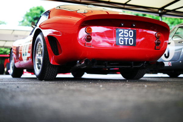 2017 Goodwood Festival of Speed. Goodwood Estate, West Sussex, England. 30th June - 2nd July 2017. Ferrari 250 GTO  World Copyright : JEP/LAT Images
