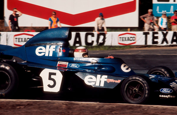 1973 Belgian Grand Prix.Zolder, Belgium.18-20 May 1973.Jackie Stewart (Tyrrell 006 Ford) 1st position.Ref-73 BEL 07.World Copyright - LAT Photographic