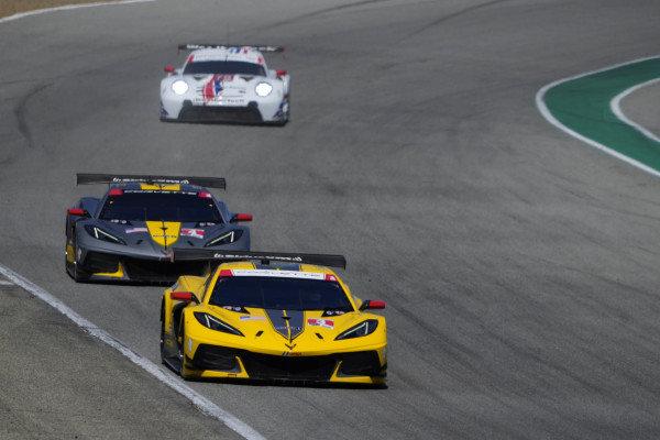 #4: Corvette Racing Corvette C8.R, GTLM: Tommy Milner, Nick Tandy, #3: Corvette Racing Corvette C8.R, GTLM: Antonio Garcia, Jordan Taylor, #79: WeatherTech Racing Porsche 911 RSR - 19, GTLM: Cooper MacNeil, Matt Campbell