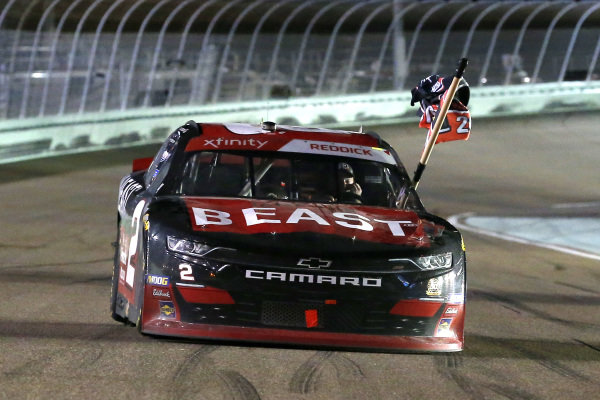 #2: Tyler Reddick, Richard Childress Racing, Chevrolet Camaro TAME the BEAST celebrates his race and championship wins