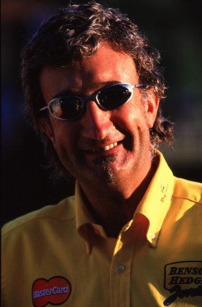 1999 San Marino Grand Prix.Imola, Italy. 30/4-2/5 1999.Eddie Jordan (Jordan Mugen Honda).Photo - Tee/LAT Photographic