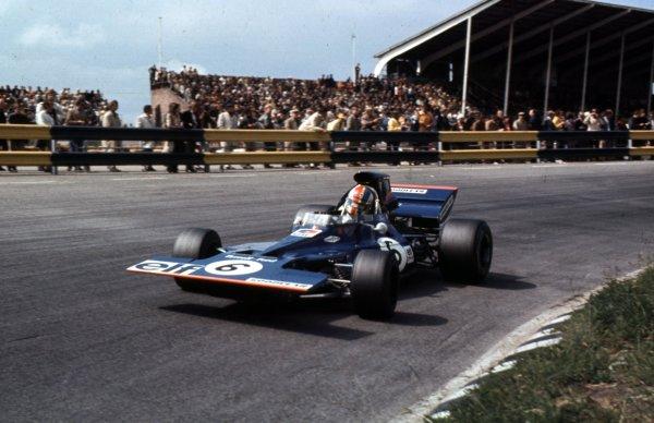 1971 Dutch Grand Prix.Zandvoort, Holland.18-20 June 1971.Francois Cevert (Tyrrell 002 Ford).Ref-71 HOL 04.World Copyright - LAT Photographic
