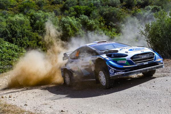 Gus Greensmith (GB), M-Sport Ford WRT, Ford Fiesta WRC 2021