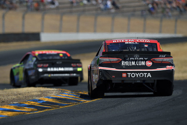 #20: Christopher Bell, Joe Gibbs Racing, Toyota Camry Rheem/Smurfit Kappa