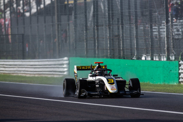 AUTODROMO NAZIONALE MONZA, ITALY - SEPTEMBER 08: Christian Lundgaard (DNK, ART Grand Prix) during the Monza at Autodromo Nazionale Monza on September 08, 2019 in Autodromo Nazionale Monza, Italy. (Photo by Joe Portlock / LAT Images / FIA F3 Championship)