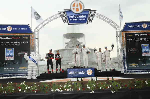 #31 Whelen Engineering Racing Cadillac DPi, DPi: Felipe Nasr, Pipo Derani, #6 Acura Team Penske Acura DPi, DPi: Juan Pablo Montoya, Dane Cameron, #7 Acura Team Penske Acura DPi, DPi: Helio Castroneves, Ricky Taylor