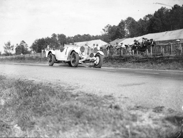 Rudolf Caracciola / Christian Werner, Mercedes-Benz SS.