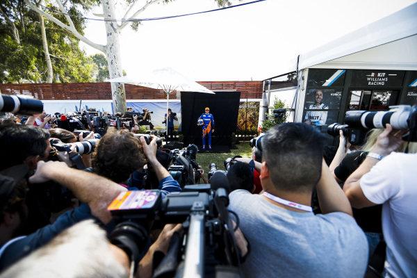 Carlos Sainz Jr, McLaren during the Official Portrait