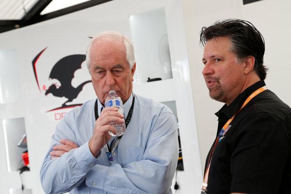 Miami e-Prix 2015. First Practice Session Michael Andretti - Andretti President, Chairman and CEO.  FIA Formula E World Championship. Miami, Florida, USA. Saturday 14 March 2015.  Copyright: Adam Warner / LAT / FE ref: Digital Image _L5R3464