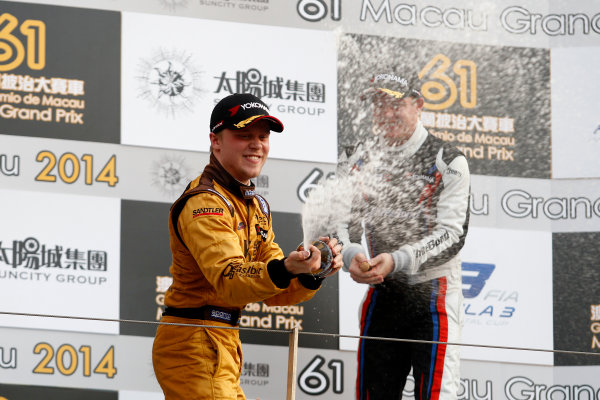 2014 Macau Formula 3 Grand Prix Circuit de Guia, Macau, China 12th - 16th November 2014 Winner Felix Rosenqvist (SWE) Kashbet.com by M?cke Motorsport Dallara F312 Mercedes-HWA World Copyright: XPB Images / LAT Photographic  ref: Digital Image 3391404_HiRes