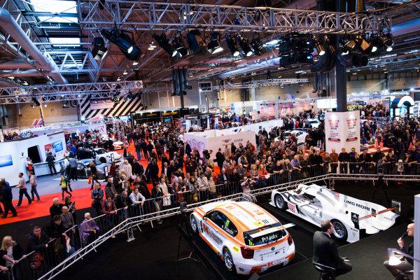Autosport International Exhibition. National Exhibition Centre, Birmingham, UK. Saturday 10 January 2015. David Brabham on the Autosport stage. World Copyright: Zak Mauger/LAT Photographic. ref: Digital Image _P7T0404