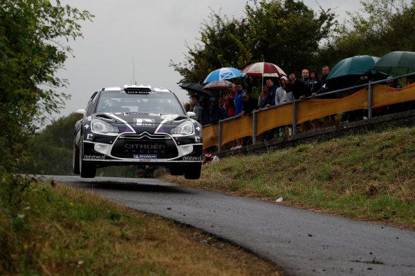 Round 09-Rallye Deutschland 23-26/8-2012.Peter Van Merksteijn Jr, Citroen WRC, Action.Worldwide Copyright: McKlein/LAT