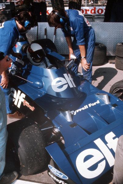 Monte Carlo, Monaco.31/5-3/6 1973.Jackie Stewart (Tyrrell 006 Ford). Ref: 73MON58.  World Copyright - LAT Photographic