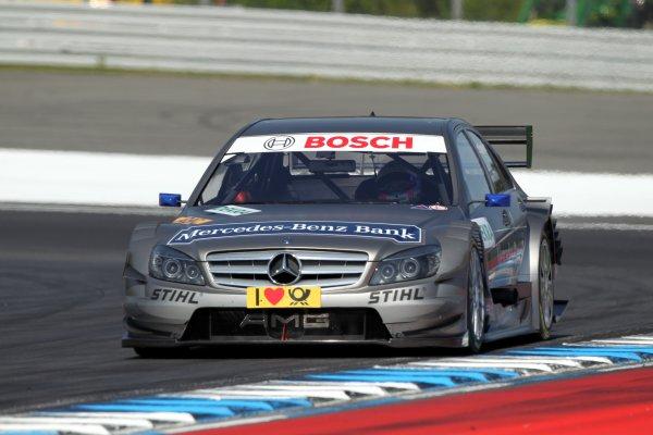 Bruno Spengler (CDN), Mercedes-Benz Bank AMG, Mercedes-Benz Bank AMG C-Klasse (2009).DTM, Rd1, Hockenheim, Germany, 23-25 April 2010 World Copyright: LAT Photographicref: Digital Image dne1023ap10