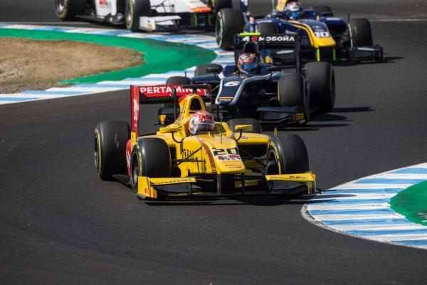 2017 FIA Formula 2 Round 10. Circuito de Jerez, Jerez, Spain. Saturday 7 October 2017. Norman Nato (FRA, Pertamina Arden).  Photo: Andrew Ferraro/FIA Formula 2. ref: Digital Image _FER1622