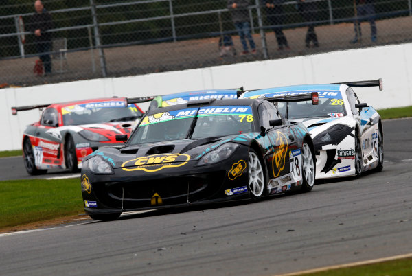 2017 Ginetta GT4 Championship, Silverstone, Northants, UK. 16th-17th September 2017 Colin White CWS 4x4 Spares Ginetta G55 World copyright. JEP/LAT Images