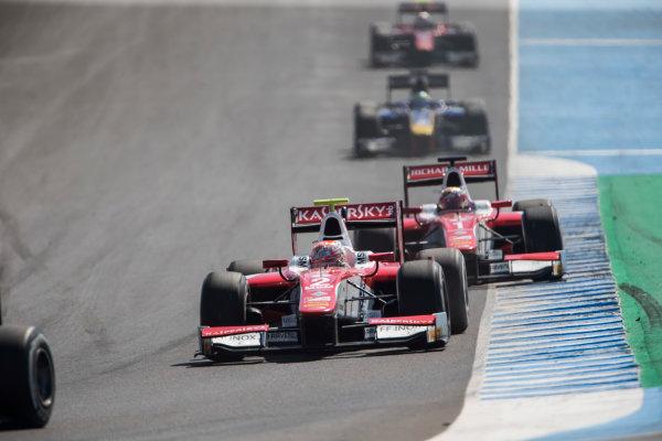 2017 FIA Formula 2 Round 10. Circuito de Jerez, Jerez, Spain. Sunday 8 October 2017. Antonio Fuoco (ITA, PREMA Racing).  Photo: Andrew Ferraro/FIA Formula 2. ref: Digital Image _FER3353