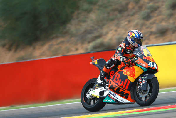 2017 Moto2 Championship - Round 14 Aragon, Spain. Friday 22 September 2017 Miguel Oliveira, Red Bull KTM Ajo World Copyright: Gold and Goose / LAT Images ref: Digital Image 693610