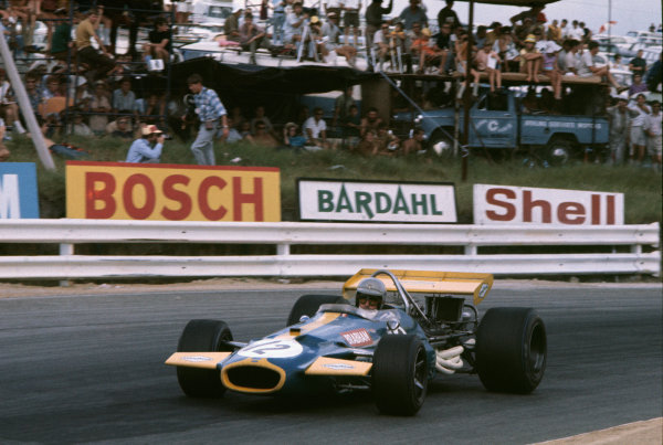 Kyalami, South Africa. 5th - 7th March 1970.Jack Brabham (Brabham BT33-Ford), 1st position, action.World Copyright - LAT Photographic