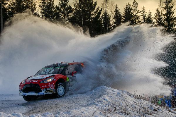 2017 FIA World Rally Championship, Round 02, Rally Sweden, February 09-12, 2017, Stephane Lefebvre, Citroen, Action, Worldwide Copyright: McKlein/LAT