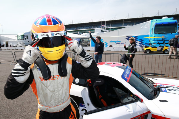 2017 Ginetta GT5 Championship Rockingham, England. 29th-30th April 2017, Lewis Brown Ginetta GT5 World copyright. JEP/LAT Images