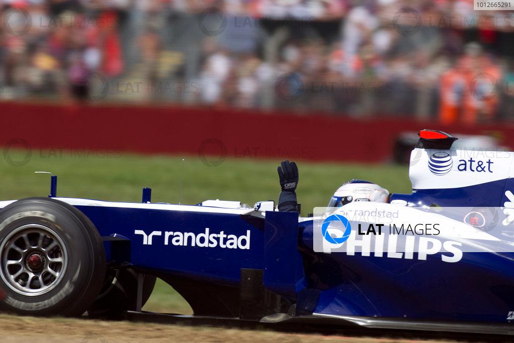 2010 British Grand Prix - Sunday