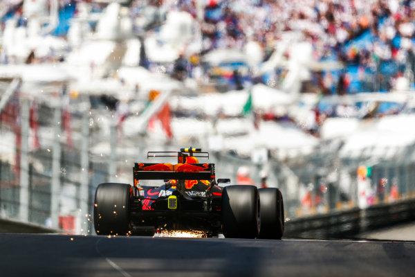 Monte Carlo, Monaco. Saturday 27 May 2017. Max Verstappen, Red Bull Racing RB13 TAG Heuer. World Copyright: Sam Bloxham/LAT Images ref: Digital Image _J6I2379