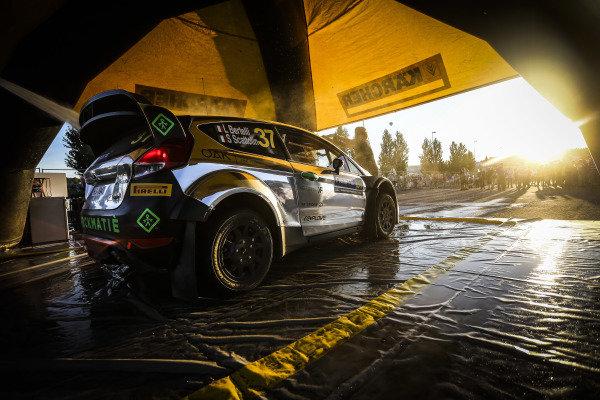 Lorenzo Bertelli (ITA) / Simone Scattolin (ITA), FWRT SRL Ford Fiesta RS WRC at FIA World Rally Championship, Rd8, Neste Oil Rally Finland, Day Two, Jyvaskyla, Finland, 30 July 2016.