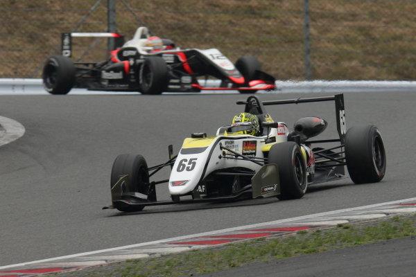 Round 11 winner Enaam Ahmed, B-Max Racing with Motopark, Dallara F312 Volkswagen A41