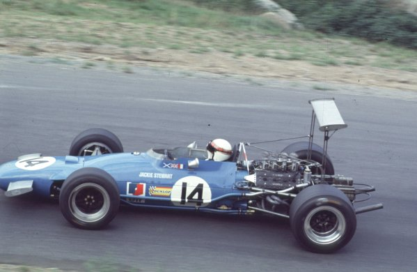 1968 Canadian Grand Prix.Mont-Tremblant, (St. Jovite), Quebec, Canada.20-22 September 1968.Jackie Stewart (Matra MS10 Ford) 6th position.Ref-68 CAN 27.World Copyright - LAT Photographic