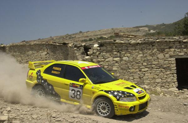 2001 World Rally ChampionshipCyprus Rally June 1-3, 2001Natalie Barratt on Stage 17.Photo: Ralph Hardwick/LAT
