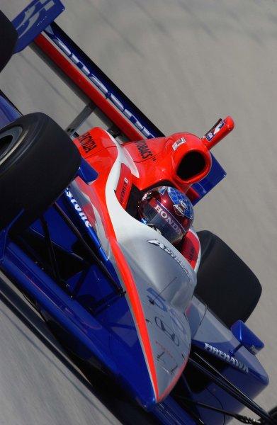 2003 IRL IndyCar Homestead, 2/28-3/2,2003, Homestead-Miami Speedway, USA Rookie Roger Yasukawa.World Copyright-F Peirce Williams 2003 LAT Photographicref: Digital Image Only