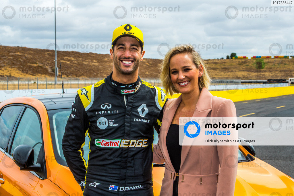 Daniel Ricciardo tests Kelly Racing Nissan Supercar at Calder